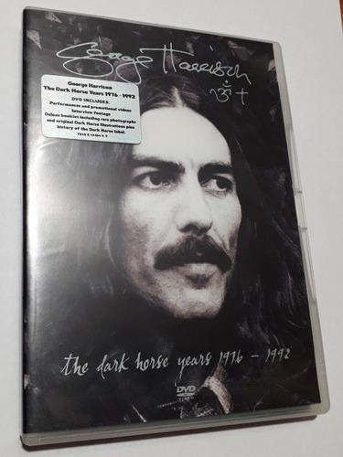 the dark horse years george harrison dvd