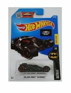 the dark knight batman 228/250 rojo hot wheels dc comics