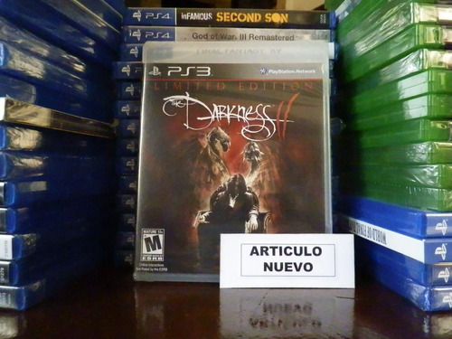the darkness ii - fisico - playstation 3