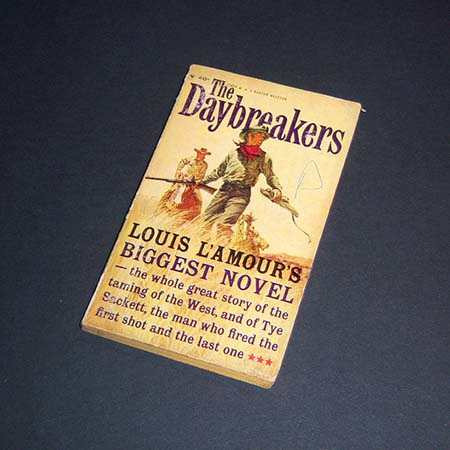 the daybreakers. louis l'amour
