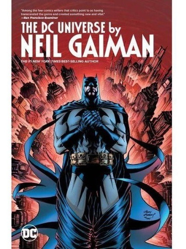 the dc universe by neil gaiman tpb - dc comics - robot negro