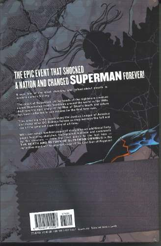 the death and return of superman omnibus hardcover