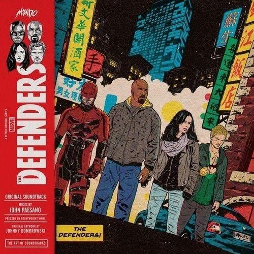the defenders [una serie original de netflix] [lp] - vinilo