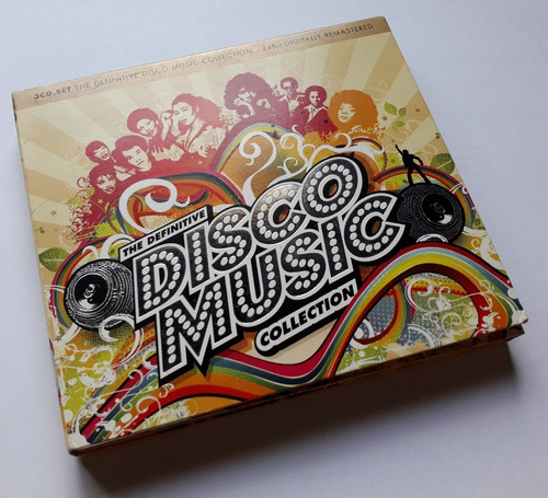 the definitive disco music collection 3 cds