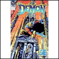 the demon nº 2: into the abyss - val semeiks -dc comics-1990