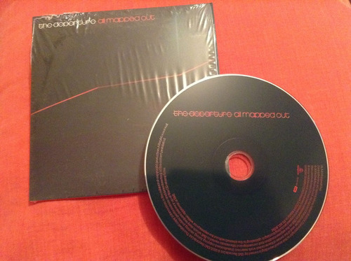 the departure all mapped out cd promo