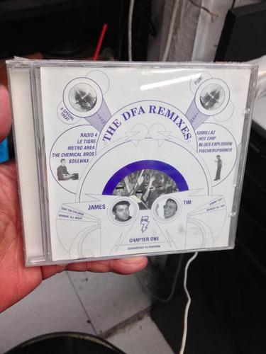 the dfa the dfa remixes chapter one cd nuevo importado