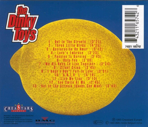 the dinky toys - colour blind cd importado impecable