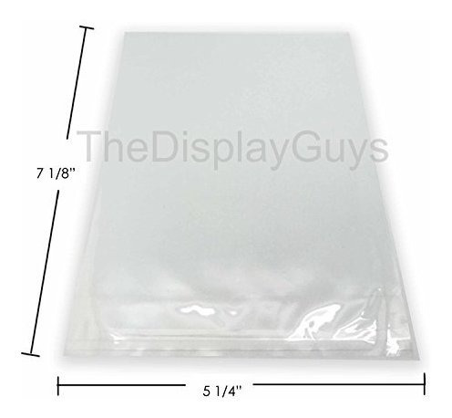the display guys ~ 100 pcs 5 14 x 7 18 bolsas plasticas tran
