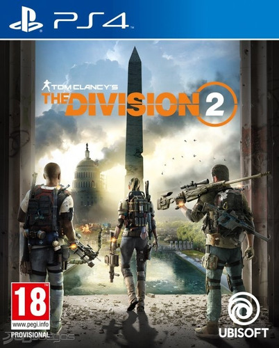 the division 2 - ps4 - físico - play for fun