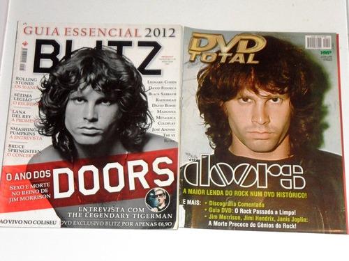the doors 2 revistas blitz+dvd total otimo  estado