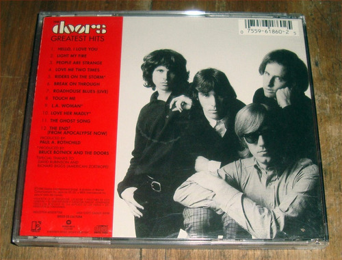 the doors greatest hits cd muy buen estado / kktus