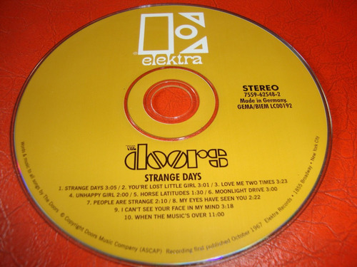 the doors - strange days ( cd mini lp )