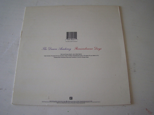 the dream academy remembrance day lp usa vinilo promo exc+++