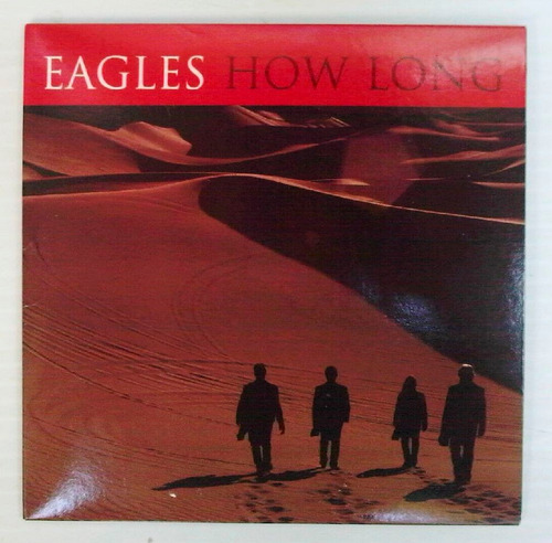 the eagles how long cd sencillo mexicano, raro