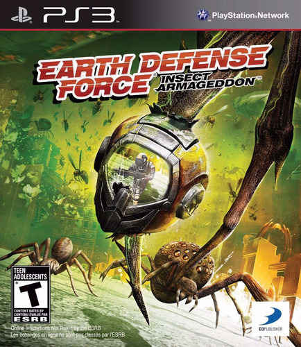 the earth defense force ps3