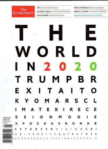 the economist - edição  the world in 2020 anuário economia
