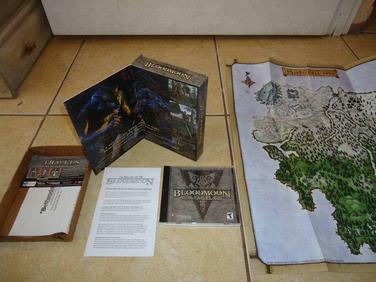The Elder Scrolls Iii Bloodmoon Morrowind Expansion Pc +++ - $ 195 00