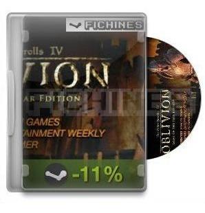 The Elder Scrolls Iv : Oblivion Goty Deluxe - Steam #22330