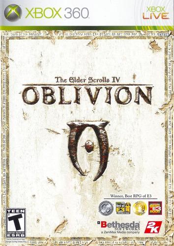 the elder scrolls oblivion xbox 360