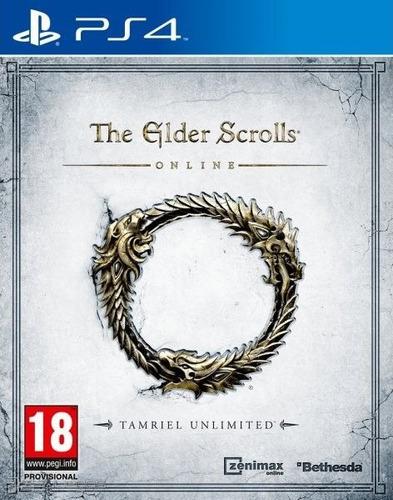 the elder scrolls online ps4 usado