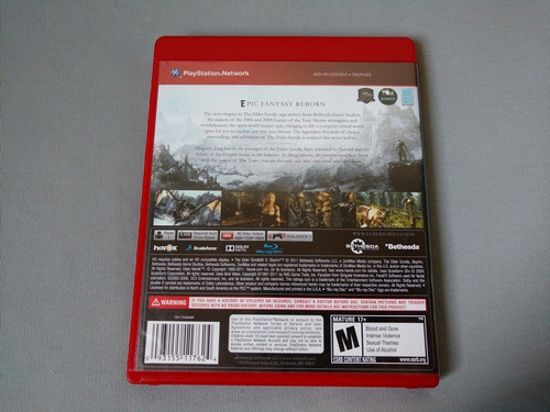 the elder scrolls skyrim ps3