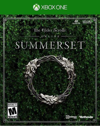 the elder scrolls summerset - xbox one fisico sellado