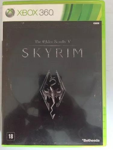 the elder scrolls v skyrim com mapa xbox 360 original
