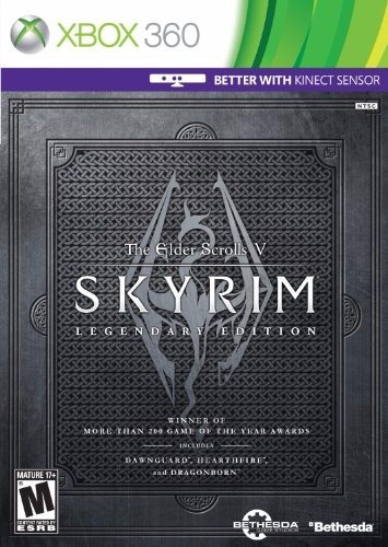 the elder scrolls v skyrim legendary edition - xbox 360