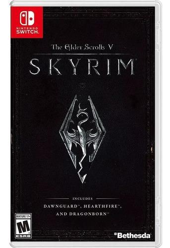 the elder scrolls v: skyrim - nintendo switch nuevo sellado