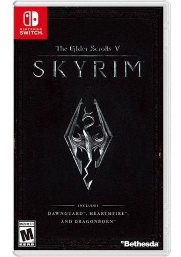 the elder scrolls v skyrim nintendo switch  sellado msi