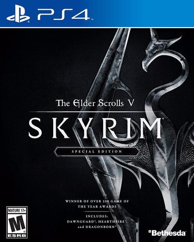 the elder scrolls v skyrim ps4 special edition delivery