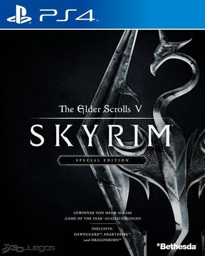the elder scrolls v: skyrim - special edition ps4