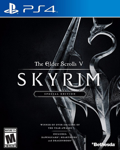 the elder scrolls v skyrim - special edition ps4 delivery