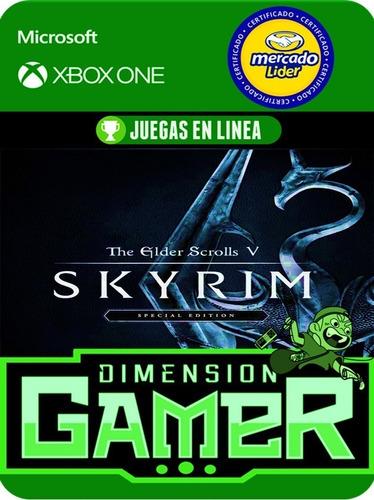 the elder scrolls v skyrim  - xbox one - online/offline