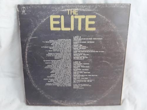 the elite varios abba bee gees michael jackson  1981 vinilo