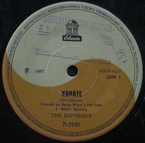 the emperor's compacto 7 karate 1967