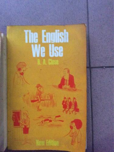 the english we use