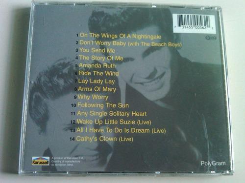 the everly brothers dreaming cd usado importado alemania