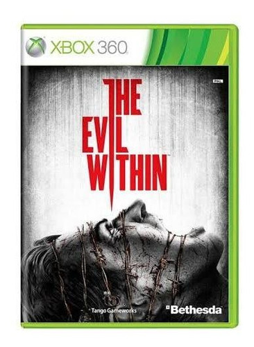 the evil whithin xbox 360 mídia física