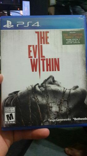 the evil within juego original de play 4