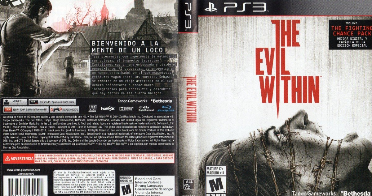 The Evil Within Ps3 Fisico