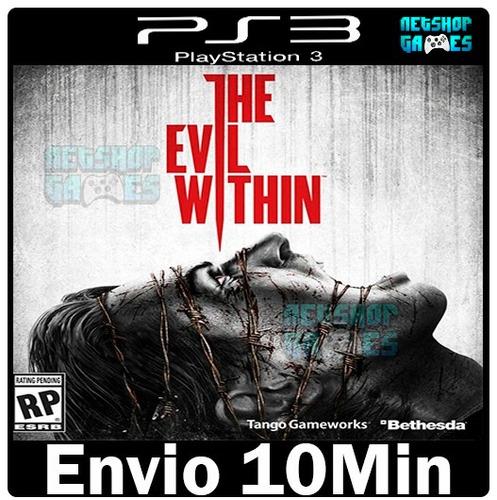 the evil within terror { ps3 - original via psn - garantia }