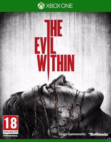 the evil within xbox one nuevo, sellado