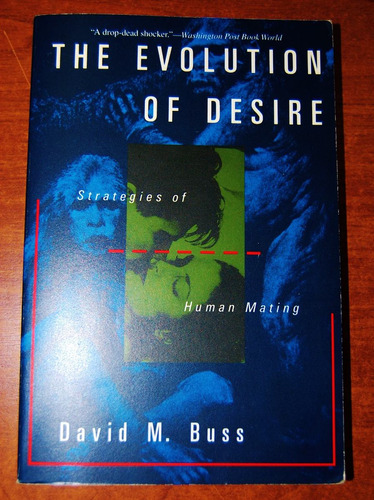 the evolution of desire - david buss  - en ingles