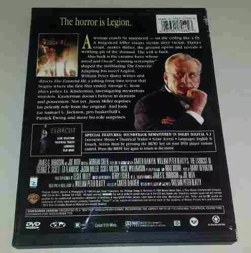 the exorcist 3 / el exorcista 3 ref. dvd terror importado