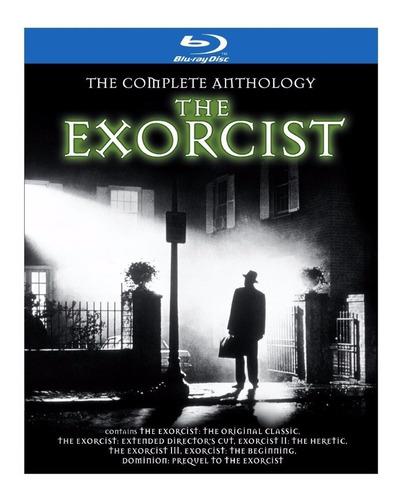 the exorcist the complete anthology el exorcista blu-ray