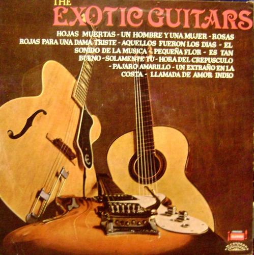 the exotic guitars muy raro vinilo lp