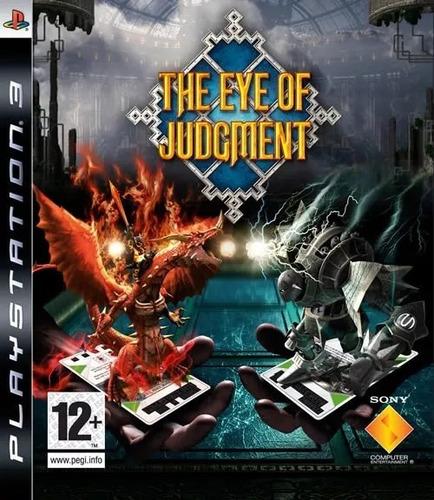 the eye of judgement ps3 camara + cartas + juego en palermo