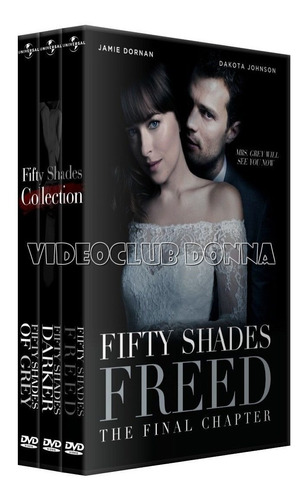 the fifty shades 50 cincu 50 cincuenta sombras colección dvd